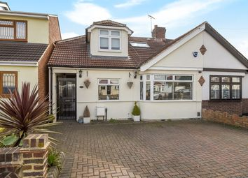 Thumbnail 3 bedroom semi-detached bungalow for sale in Chestnut Avenue, Hornchurch