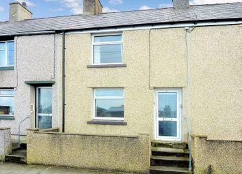 Thumbnail 2 bed terraced house for sale in Bron Eryri Terrace, Rhosgadfan, Caernarfon