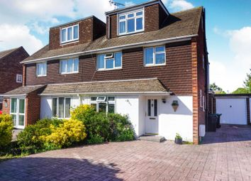 Thumbnail 4 bed semi-detached house for sale in Orchard Avenue, Aylesford