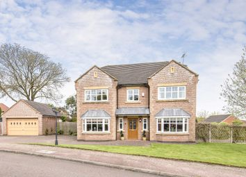 Thumbnail 5 bed detached house for sale in Sparsis Gardens, Narborough, Leicester