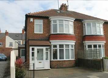 Thumbnail 3 bed semi-detached house for sale in Hollymead Drive, Guisborough
