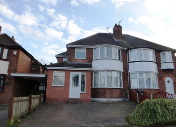 Thumbnail 3 bed semi-detached house for sale in Brays Road, Sheldon, Birmingham