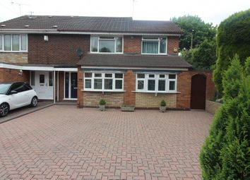 Thumbnail 4 bed semi-detached house for sale in Belinda Close, Willenhall