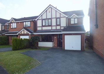 Thumbnail 4 bedroom detached house for sale in Braystones Close, Packmoor, Stoke-On-Trent