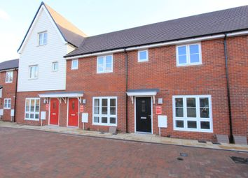 Thumbnail 2 bed terraced house for sale in Tydemans Close, Berryfields, Aylesbury