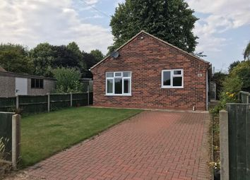 Thumbnail 2 bed detached bungalow for sale in South Parade, Caythorpe, Grantham