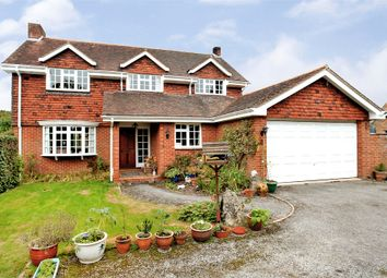 Thumbnail 4 bedroom detached house for sale in Knapp Lane, Ampfield, Romsey, Hampshire