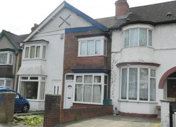 Thumbnail 3 bed terraced house for sale in Illsley Road, Erdington