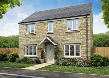 "Thumbnail 4 bed detached house for sale in ""The Chedworth"" at Restrop Road, Purton, Swindon"