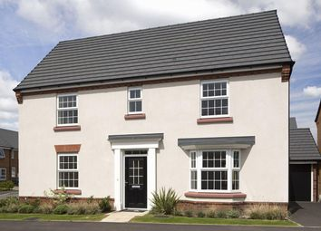 """Thumbnail 4 bedroom detached house for sale in """"Layton"""" at Welbeck Avenue, Burbage, Hinckley"""