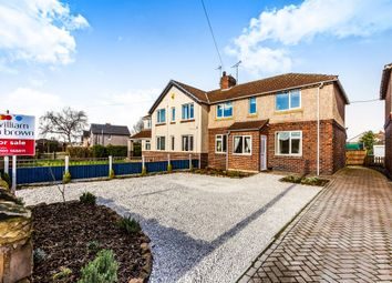Thumbnail 3 bed semi-detached house for sale in Laughton Road, Thurcroft, Rotherham