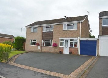 Thumbnail 4 bed detached house for sale in Wetenhall Drive, Leek