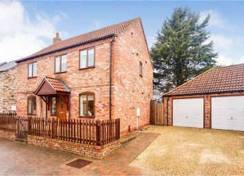 Thumbnail 4 bed detached house for sale in Chestnut Close, Nocton