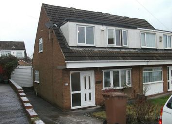 Thumbnail 3 bed semi-detached house to rent in Penryn Avenue, Laffak, St Helens