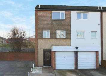 Thumbnail 3 bed town house for sale in Kipling Close, Clifton, Nottingham
