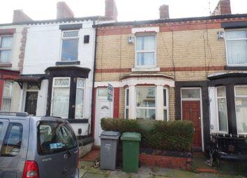 Thumbnail 2 bedroom terraced house for sale in Harrowby Road, Birkenhead