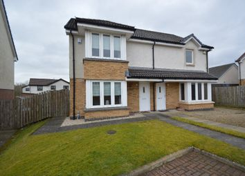 Thumbnail 2 bed semi-detached house for sale in Jennings Gardens, Kilbirnie, North Ayrshire