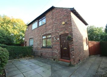 Thumbnail 2 bed semi-detached house for sale in Altrincham Road, Wythenshawe, Manchester
