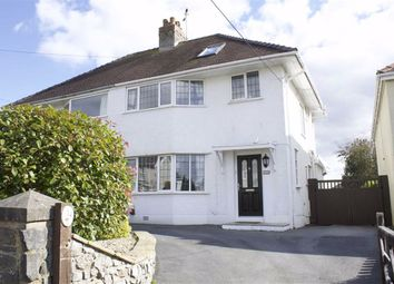 Thumbnail 3 bed semi-detached house for sale in Pyle Road, Bishopston, Swansea