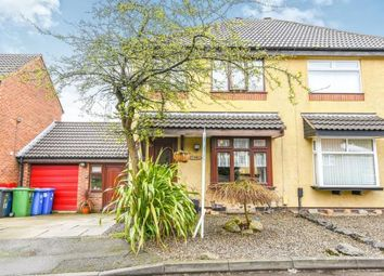 Thumbnail 3 bed semi-detached house for sale in Ashbury Close, Windmill Hill, Runcorn, Cheshire