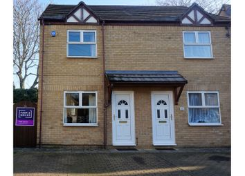 Thumbnail 2 bed semi-detached house for sale in Palmerston Road, Peterborough