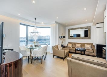 Thumbnail 1 bed flat to rent in The Corniche, Tower One, 20 Albert Embankment, London