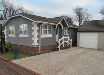 Thumbnail 2 bed mobile/park home for sale in Millbanks, Nepgill Park, Bridgefoot, Workington, Cumbria, 1Wb