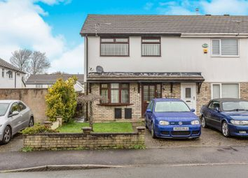 Thumbnail 3 bed end terrace house for sale in Highland Avenue, Bryncethin, Bridgend