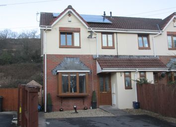 Thumbnail 3 bed semi-detached house for sale in Plymouth Gardens, Pentrebach, Merthyr Tydfil