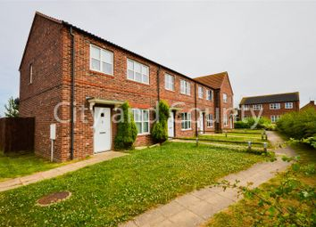 Thumbnail 2 bed end terrace house for sale in Dean Close, Weston, Spalding