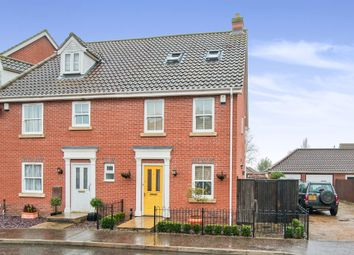 Thumbnail 3 bedroom end terrace house for sale in Field Maple Road, Watton, Thetford