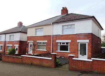 Thumbnail 2 bed semi-detached house for sale in Dunraven Park, Bloomfield, Belfast