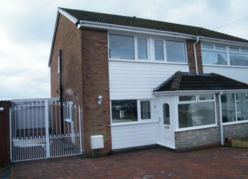 Thumbnail 3 bed property to rent in Haywood Drive, Halesowen