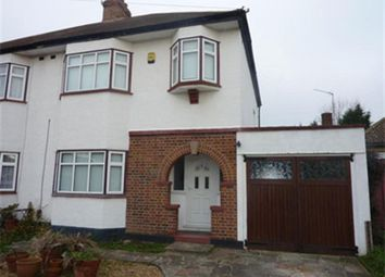 Thumbnail 3 bedroom semi-detached house to rent in Freshfields Avenue, Upminster