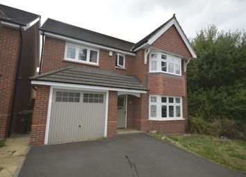 Thumbnail 4 bed detached house to rent in Himley Close, Bilston