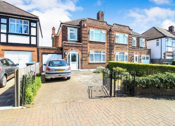 Thumbnail 3 bed semi-detached house for sale in Lindsay Drive, Kenton, Harrow