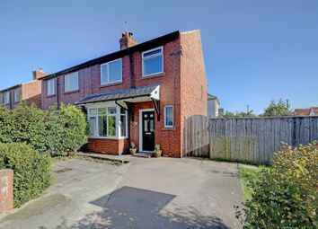 Thumbnail 3 bed semi-detached house for sale in Monks Road, Whitley Bay, Tyne And Wear