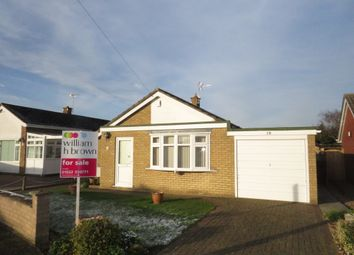 Thumbnail 3 bed detached bungalow for sale in Nursery Close, Saxilby, Lincoln