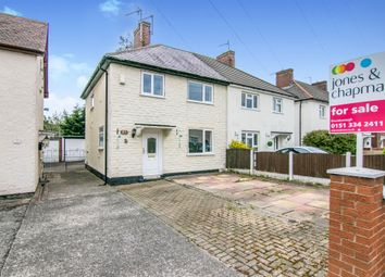 Thumbnail 3 bed semi-detached house for sale in Mainwaring Road, Bromborough, Wirral