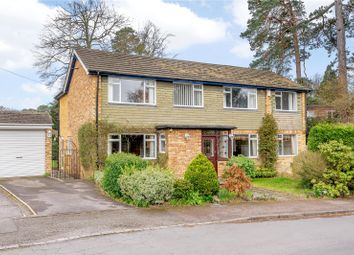 Thumbnail 4 bedroom detached house for sale in Cardwell Crescent, Sunninghill, Berkshire