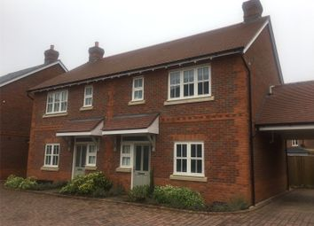 Thumbnail 2 bed semi-detached house to rent in Oakwood Place, Lane End, High Wycombe, Buckinghamshire
