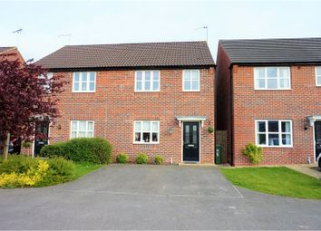 Thumbnail 3 bed semi-detached house for sale in Merlin Road, Mansfield Woodhouse