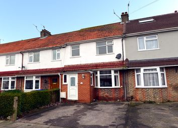 Thumbnail 4 bed terraced house for sale in Grand Ave, Lancing