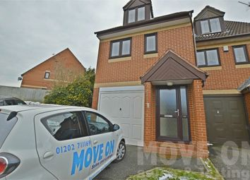 Thumbnail 2 bed town house to rent in Sixpenny Close, Poole, Dorset