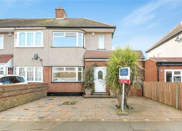 Thumbnail 4 bed end terrace house for sale in Appledore Avenue, South Ruislip, Middlesex