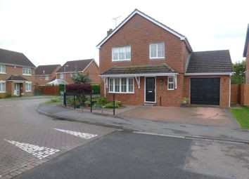 Thumbnail 4 bed detached house for sale in Harlequin Drive, Spalding