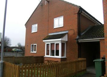 Thumbnail 1 bedroom terraced house to rent in Primrose Drive, Aylesbury, Buckinghamshire