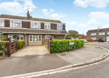 Thumbnail 4 bed semi-detached house for sale in Glynde Crescent, Felpham
