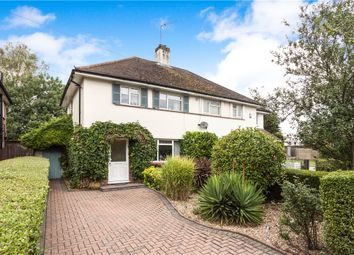 Thumbnail 2 bed semi-detached house for sale in Thorpe Lea Road, Egham, Surrey