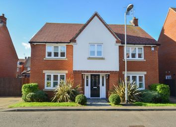 Thumbnail 4 bed detached house for sale in Newman Road, Little Canfield, Dunmow